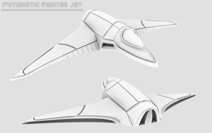 Future Fighter Jet by Elude7