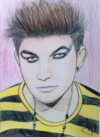 Adam Lambert Draw by jakanddaxter1998