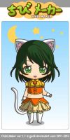 Chibi Gumi Its a wodnerful cats life by emo-neko-meli