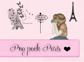 Png Pack Paris by TiniCamieditions