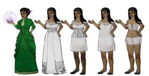 Lacey dress up by marora