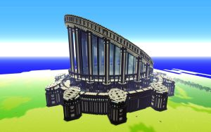 Minecraft Build 1 - The Temple of Insight by Oeasis