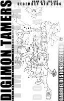 Digimon Tamers Art Complete by TheNotoriousGAB