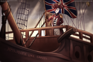 Doodle - RWBY : British Invasion by dishwasher1910