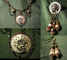 Dreams of Gold - Set by Muffinettes-crafts