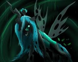 Queen Chrysalis by ShadowClawZ