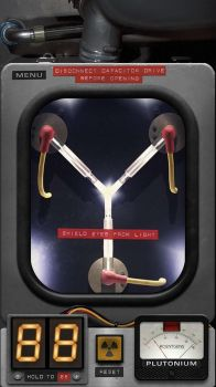 iPhone 6 Lockscreen flux capacitor by airglow