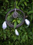 Moon Howling Wolf Dream Catcher (Buyers Picture) by TheInnerCat
