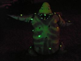 Glowing Oogie Boogie Man by Shadowfox012