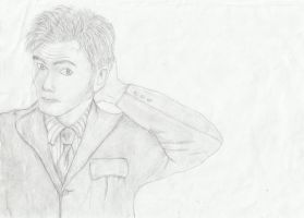 Tenth Doctor by ConstarRoberts