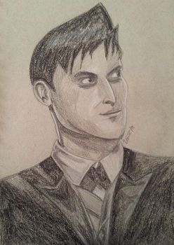 Robin Taylor as Oswald (Penguin) Cobblepot by MrsJ