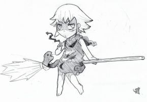 Really Quick Se Sketch by Scarefoo