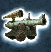 Bronze cannon 5 by Zinfer