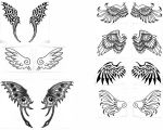 Tattoos for Harle's contest by Moonshadow01
