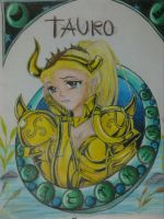 TAURO by H3cT0r-Dibujos
