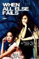 taeyeon and jessica poster by SNSDartwork