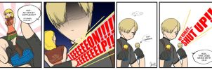 RE4: Bottlecap Comic by anime-dragon-tamer