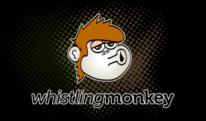 Whistling Monkey Logo by littleboxofideas