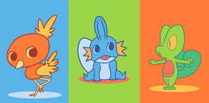 Hoenn Starters Weakness by Jfdp13