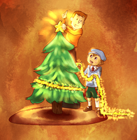 Laytons Christmas Tree by YoMo715