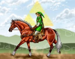 Epona of Legend - REDO by DragonCid