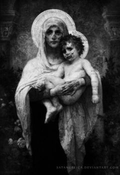 Decaying Madonna by Satangelica