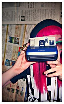 polaroid chick. by most-memorable