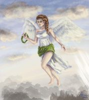 Nike, Goddess of Victory by bugsandbears