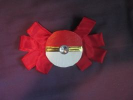 Pokeball Bow by evilweasel24