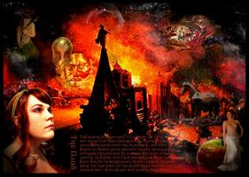 Reflections Of The Trojan War by RavenMaddArtwork