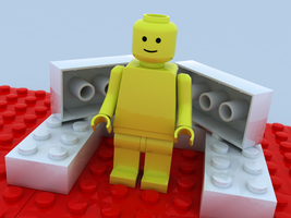 Lego Dude by Squint911