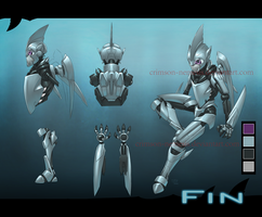 Fin - reference sheet by crimson-nemesis