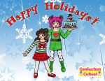 Confection Cuties:Happy Holidays! 2016 by Magical-Mama