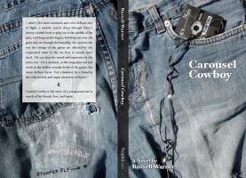"""Carousel Cowboy"" Book Cover by troped"