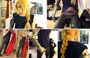 Edward Elric Cosplay WIP by napallama