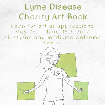 Lyme Art Book - Applications Open by tinylaughs
