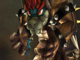 Giga Bowser: Me Crush You by THEJAO1000