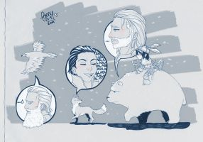 Odd and the Frost Giants by IslaDelCoco
