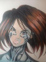 :Battle Angel Alita: by MsAnnThrope