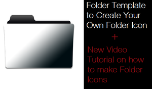 Folder Template (.PSD) + VIDEO TUTORIAL by iBibikov73