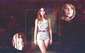 Jennifer Lawrence Wallpaper - 02 by krissycupcake