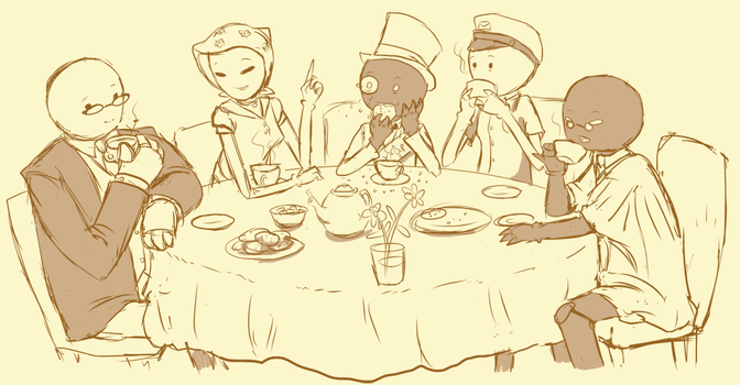 Exile Teatime by hootlord