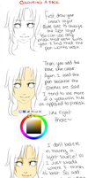 SAI: Skin colouring tutorial: Face by lonehuntress