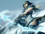 Commision - Ashe League of Legend by juliodelrio