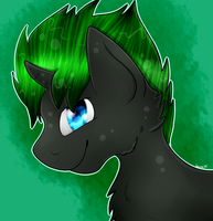 :gift: Darklight Shimmer Headshot ^^ by CKittyKat98