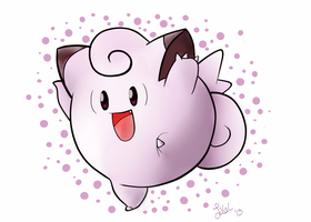 Clefairy by Lmiris