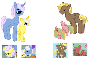 Mlp Adoptaships by SpottyBadger