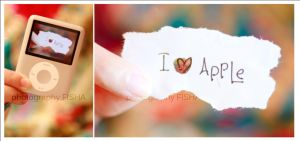 :: I Love Apple :: by Al3ashAlh