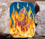 ACEO Glimmer of Flame by devious-snake