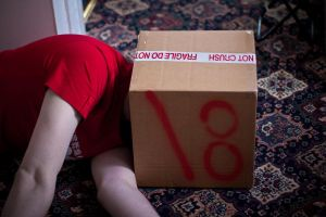 Boxed in. by Carenza